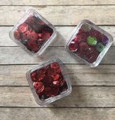 Sequin Trio Packs - Red